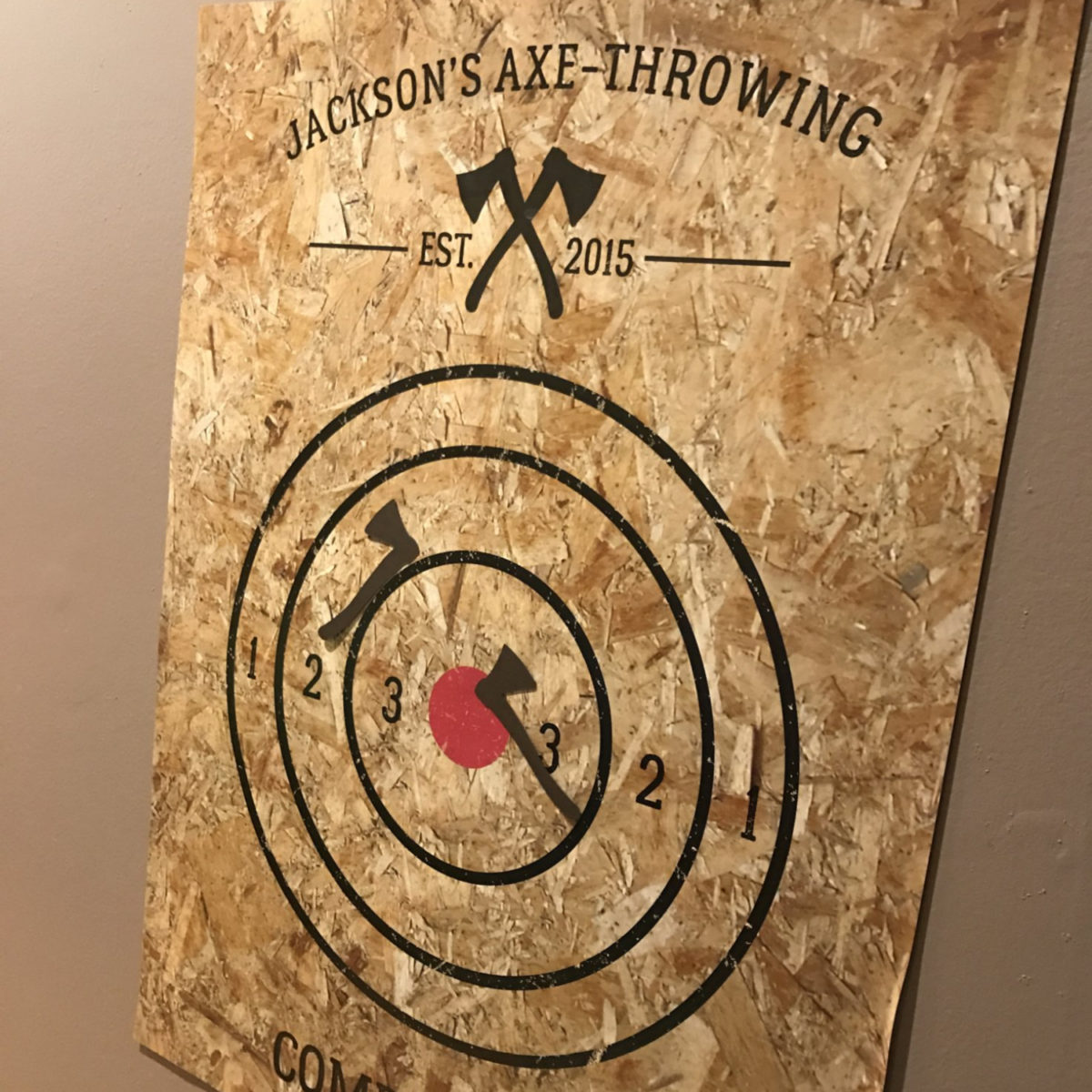 Axe Throwing Competition Party Game | by Posted Fete