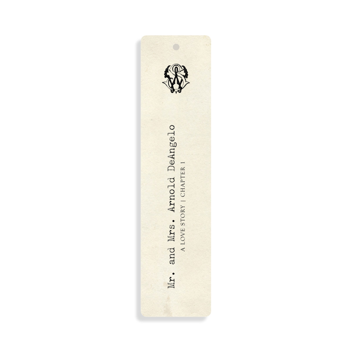 Bookmark Place Card for Literary Wedding or Literary theme party | By Posted Fete | #Literarywedding #LiteraryTheme #Wedding