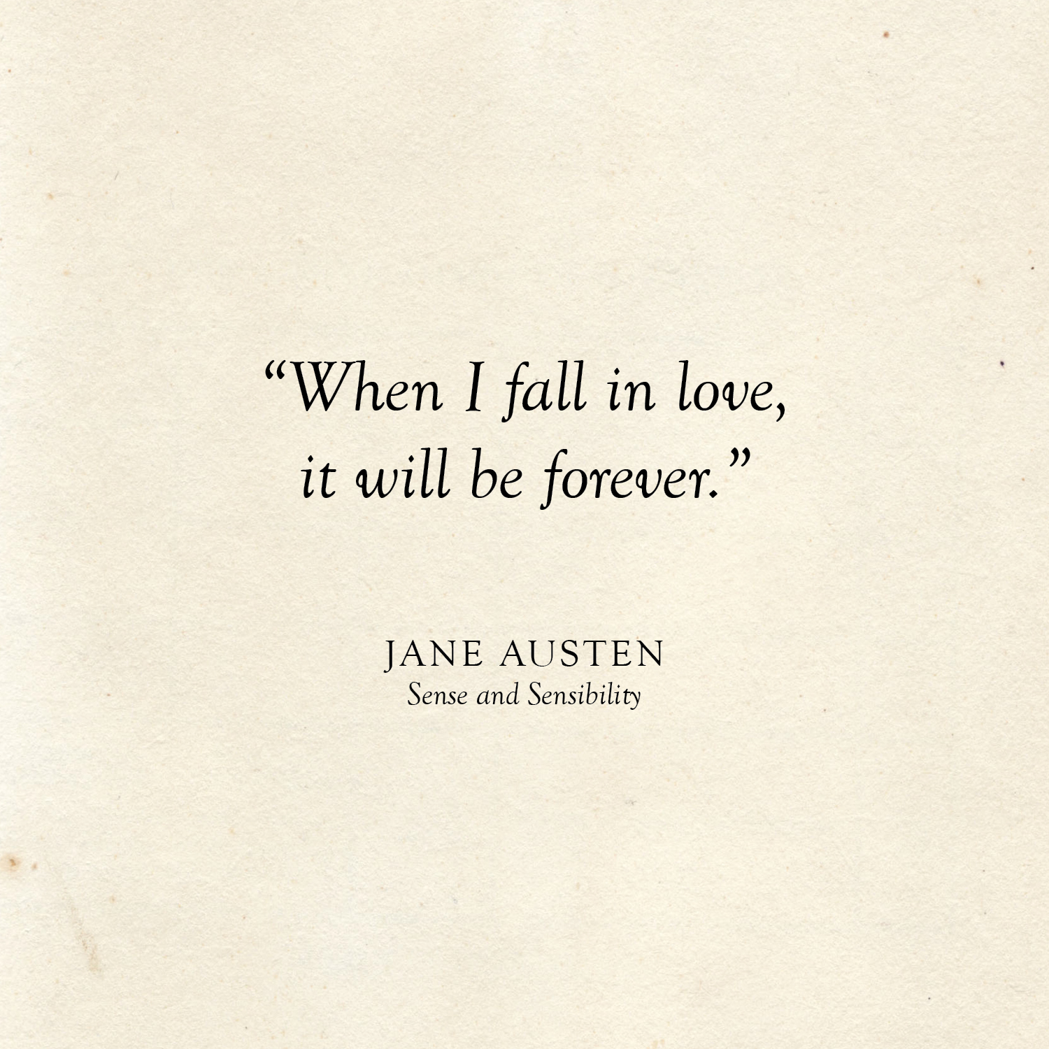 fall in love forever