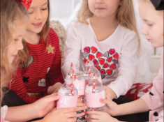 Galentine's Day Playdate Party for Little Gals | Donut Theme Valentine's Day Breakfast Party by Posted Fete