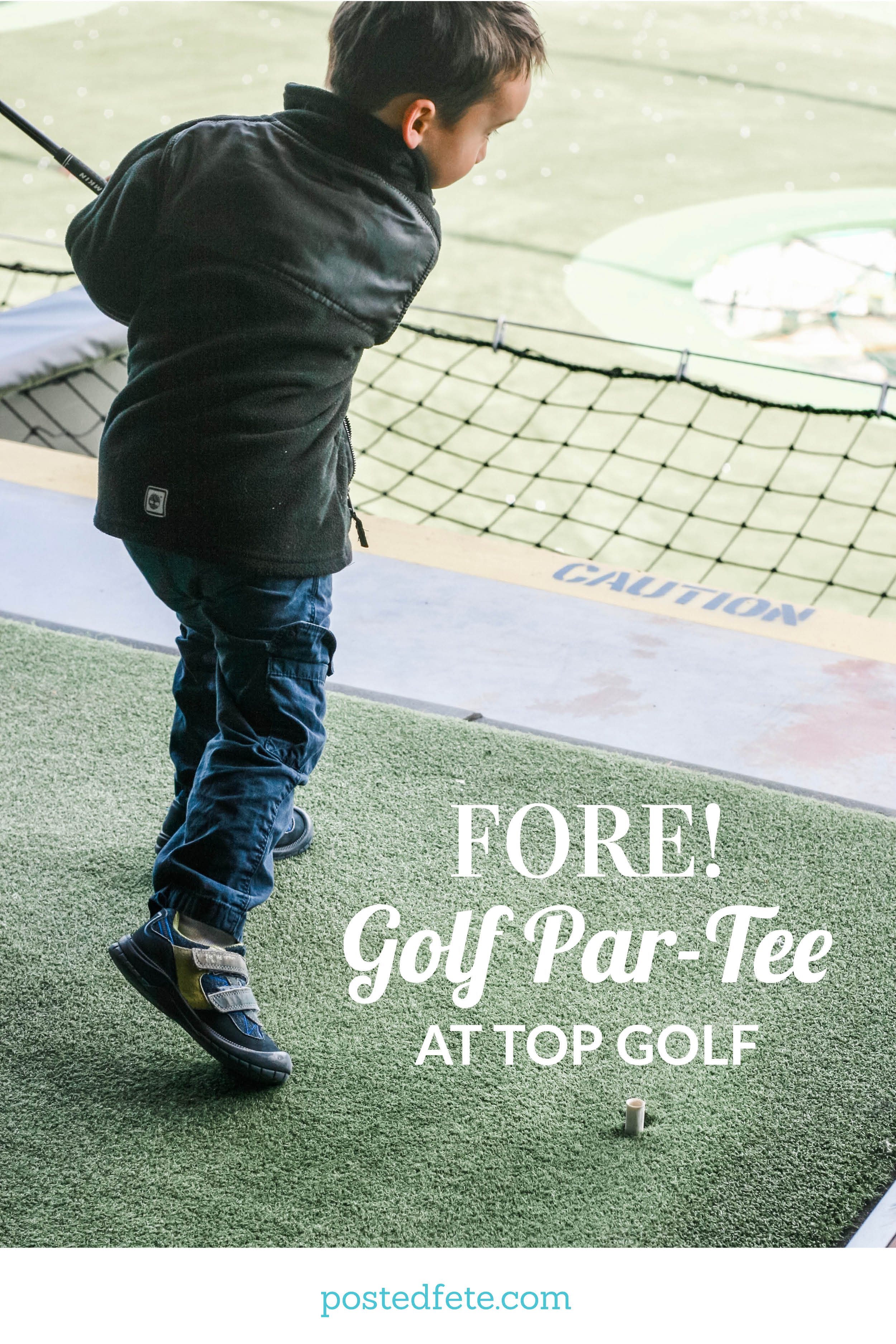 Party Ideas for a Golf Par-Tee at Top Golf