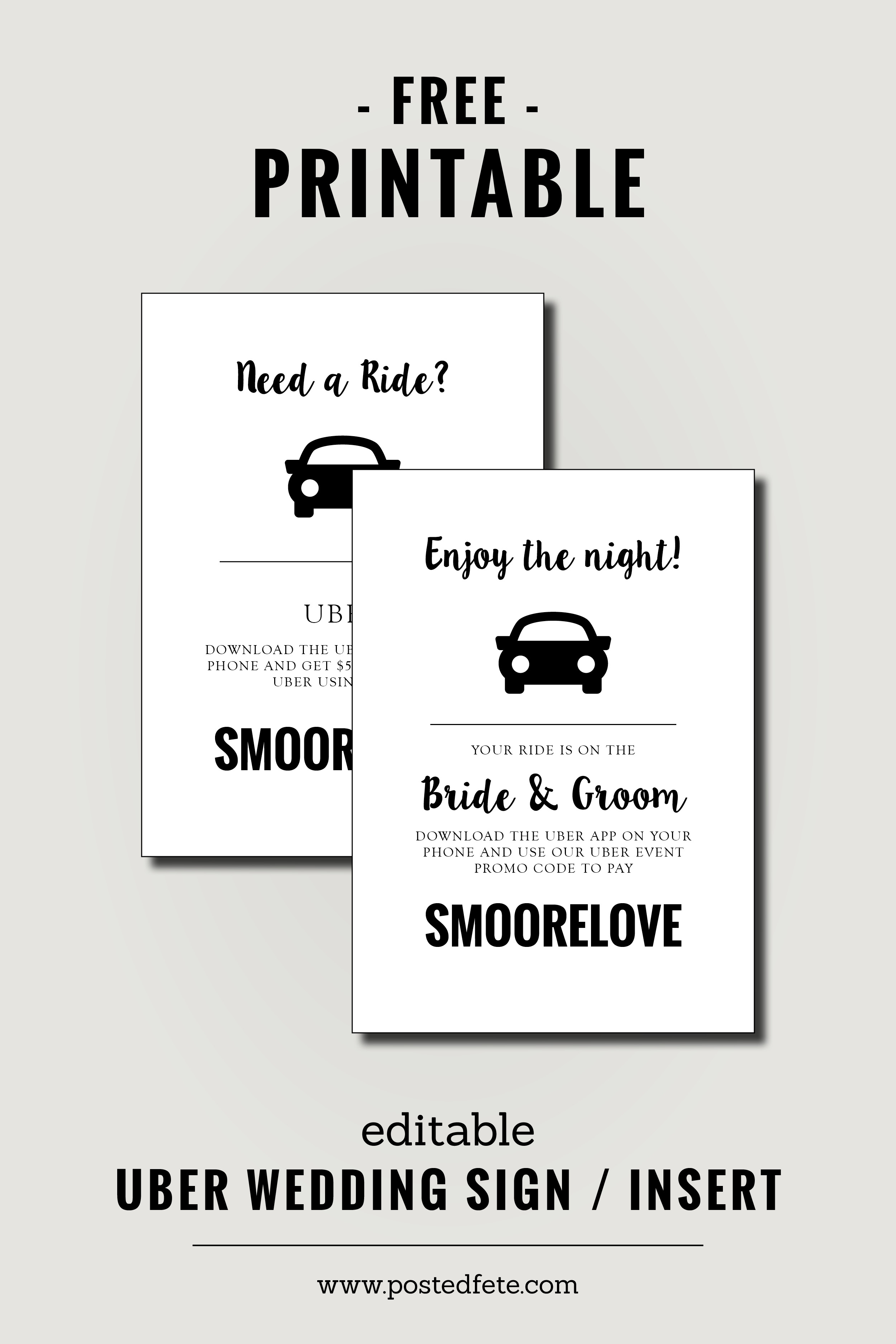 image about Uber Sign Printable named Savvy wedding ceremony guidelines for developing a straightforward exquisite wedding ceremony