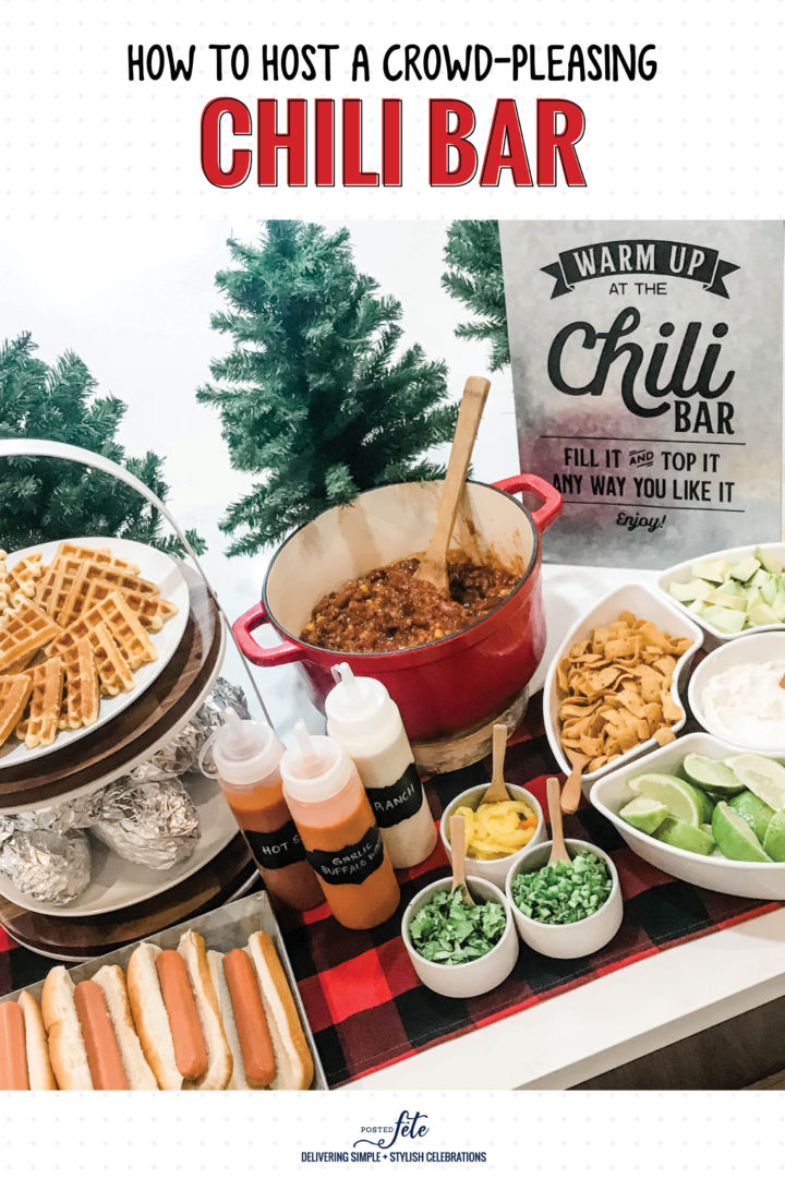 How To Host A Crowd Pleasing Chili Bar Posted Fete